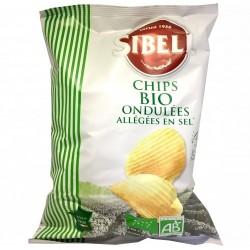 Chips ondulées allégées sel...
