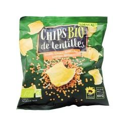Chips de lentilles corail 60g