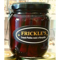 French pickles le red is...