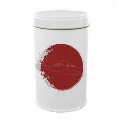 Boite fer blanc ronde Japon...