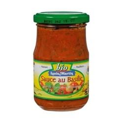 Sauce tomates basilic pot 190g