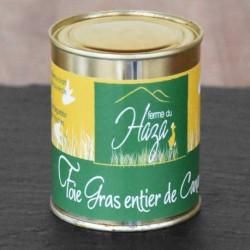 Foie gras entier canard 250gr