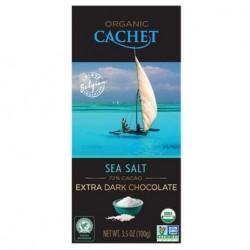 Chocolat noir fleur de sel...